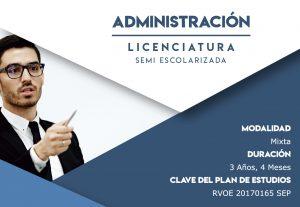 Licenciatura Semi-escolarizada Administración
