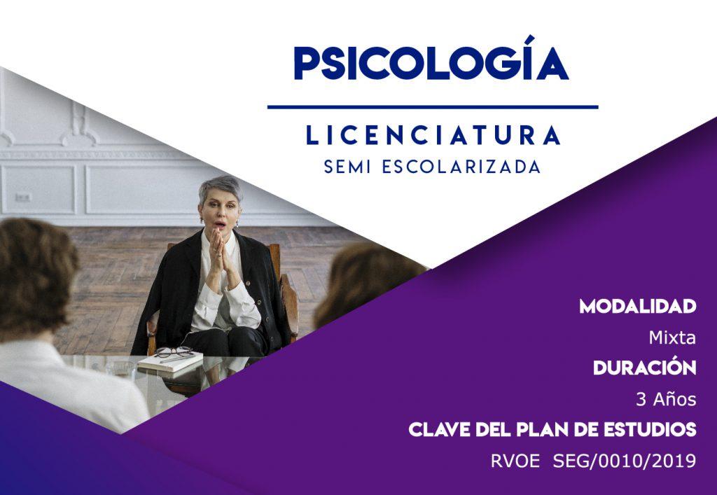 Licenciatura Semi escolarizada en Psicología