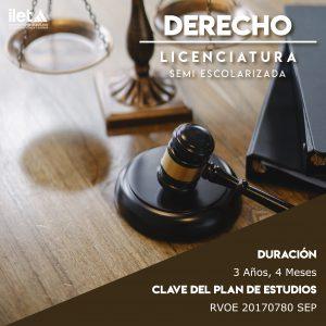 LICENCIATURA DERECHO ILET