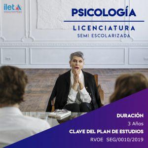 LICENCIATURA PSICOLOGÍA ILET